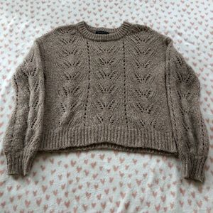 Beige sweater from American Eagle